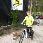 Steppen met de hond