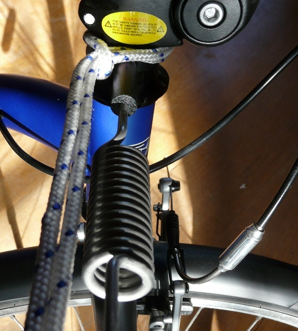 Kickbike Cross Max Dog: topstep voor mushing
