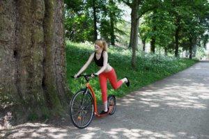 nieuwe Kickbike, een blessurevrije duursport